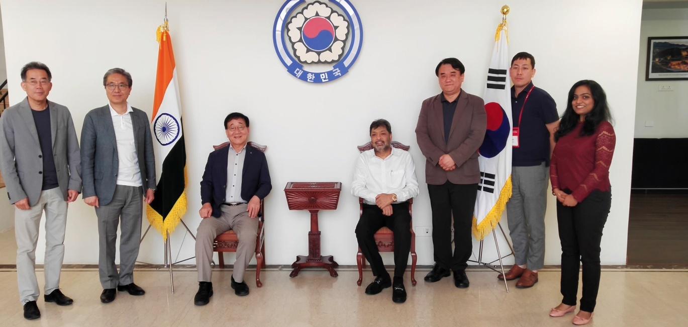 Yonsei Delegations Visit